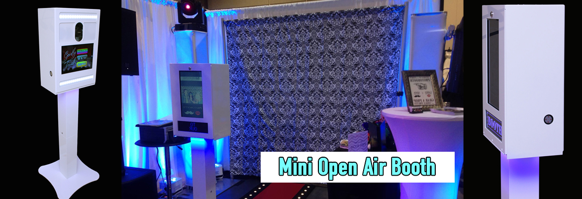 Creative Image Photo Booth Mini Open Air Booth